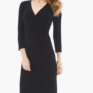 Size 2 (12/14) Chico's Rosemary Faux wrap dress